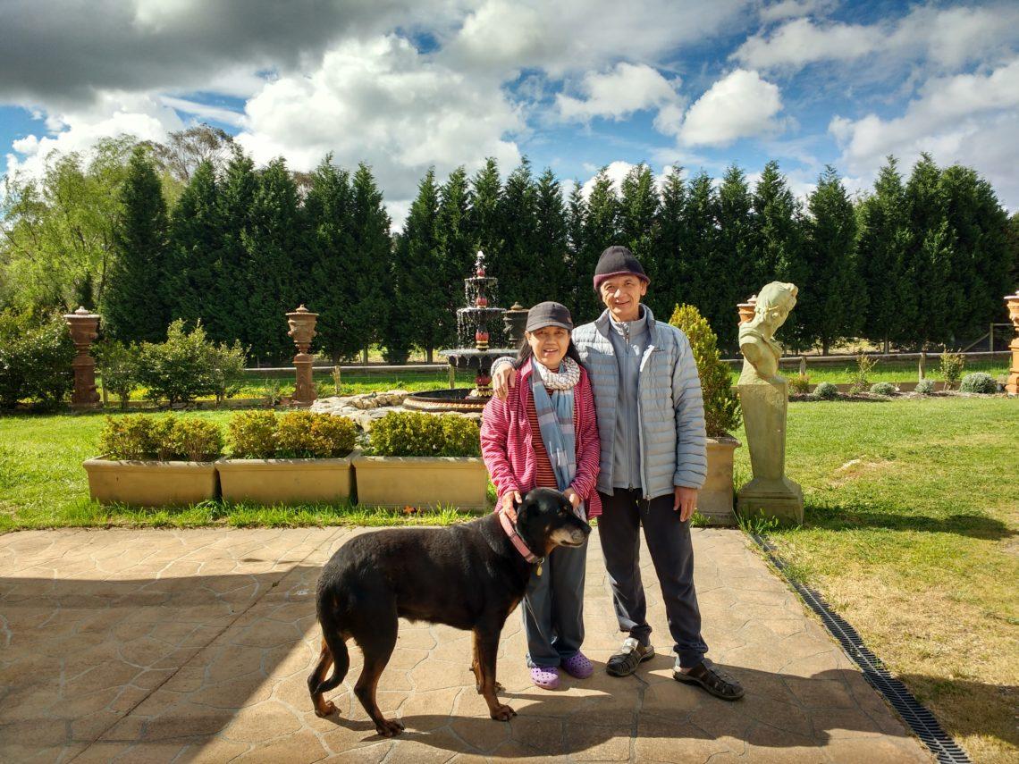 Famille Jitprathak à Bundanoon