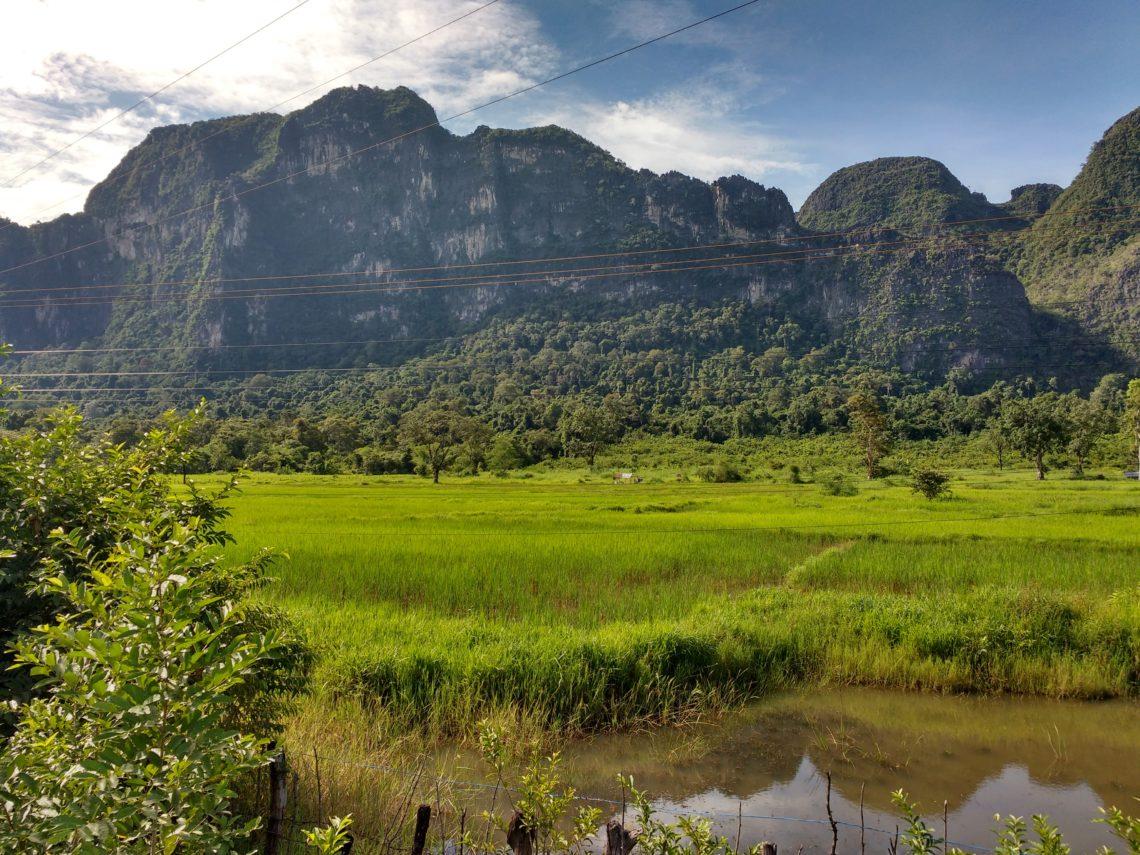 Sur la route de Thakhek