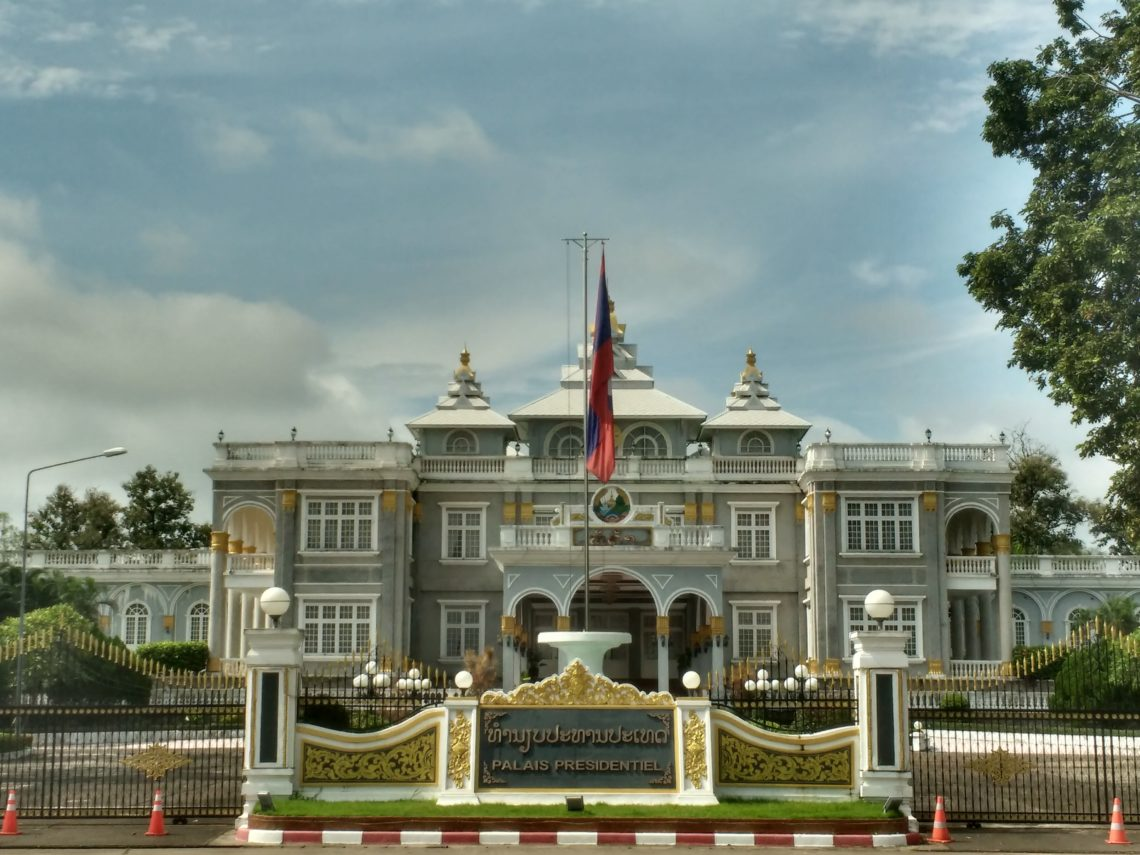Vientiane - Le palais présidentiel