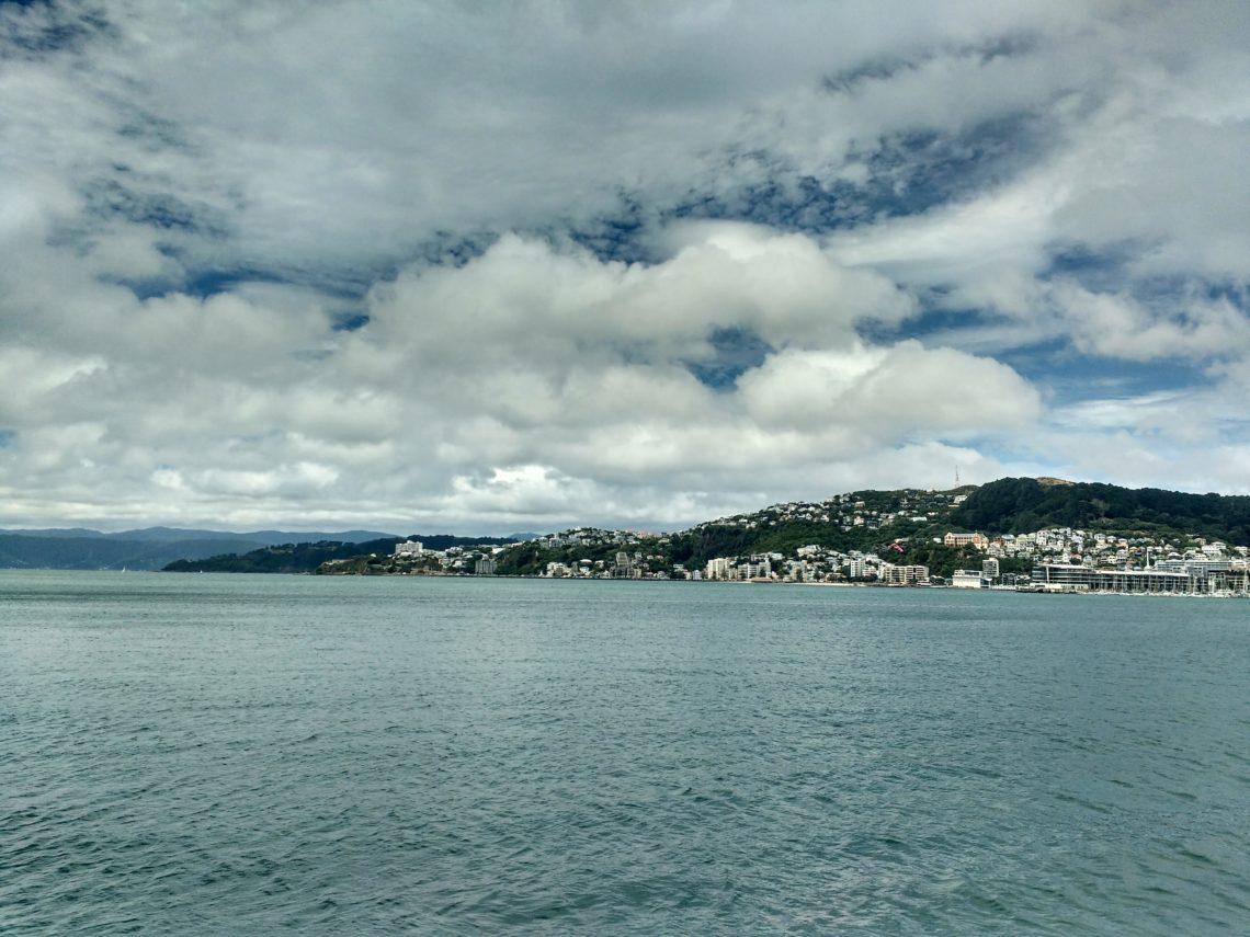 Arrivée à Wellington