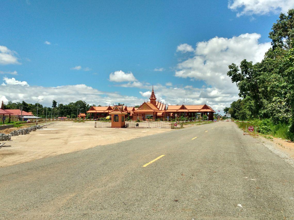 Arrivée au Laos