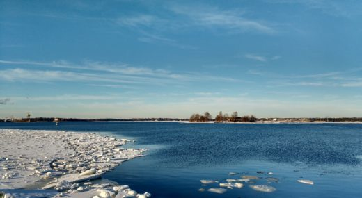 Mer gelée à Helsinki