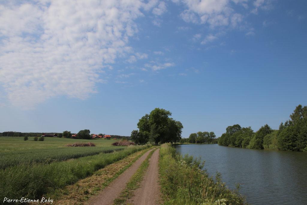 Göta kanal suède circuit vélo