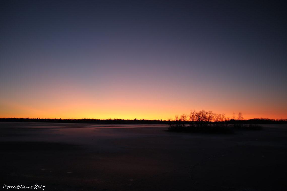 sérénité suède paix coucher soleil